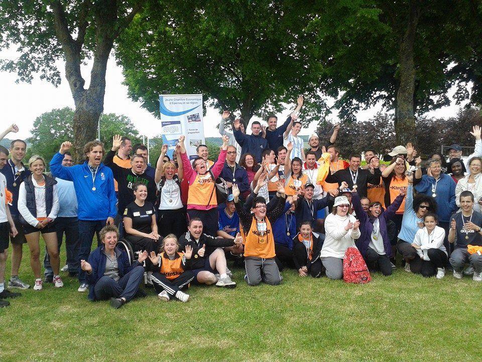 JCO à Epernay, événement JCI, 7 beauvaisiens présents à ces jeux sportifs et joyeux.