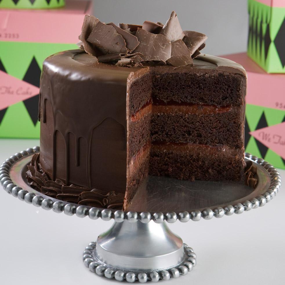 Chocolate Raspberry Layer Cake.   Chocolate   Pinterest