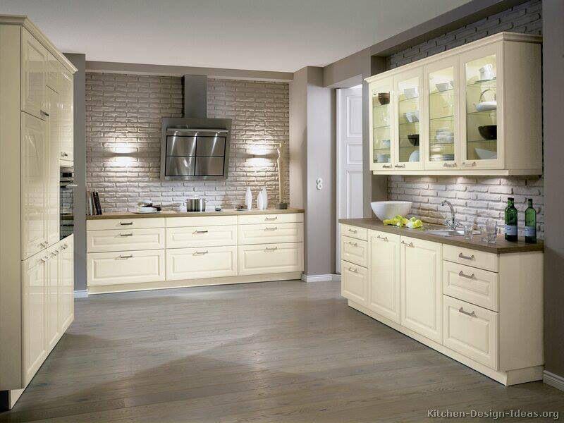 Best Grey Brick Backsplash Dream Home Pinterest 400 x 300