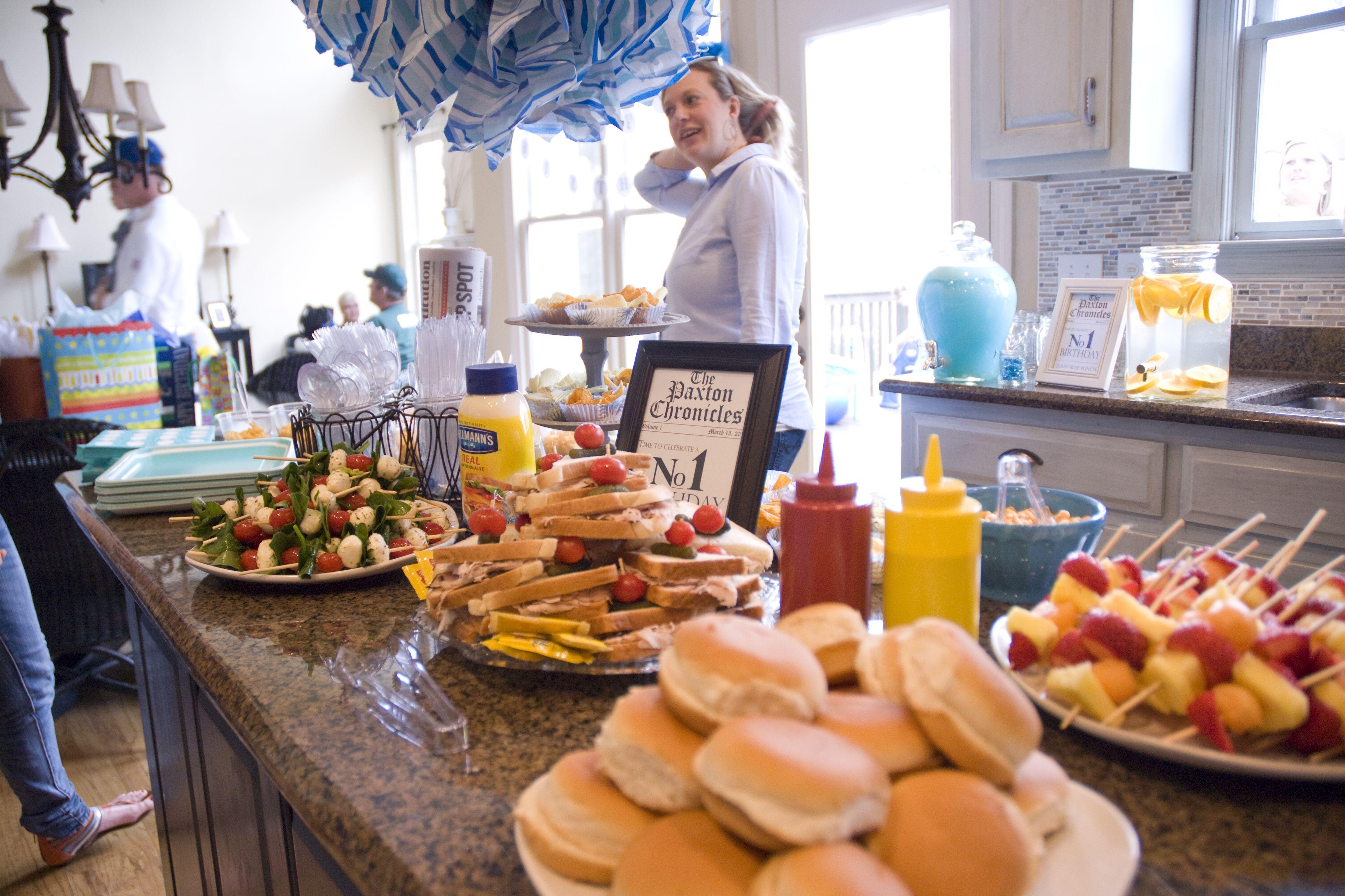 Food bar 1st birthday party adrianna 39 s bday party ideas for Food bar ideas