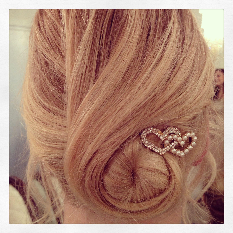 Easy up-do for thin hair. | Hair & Makeup | Pinterest