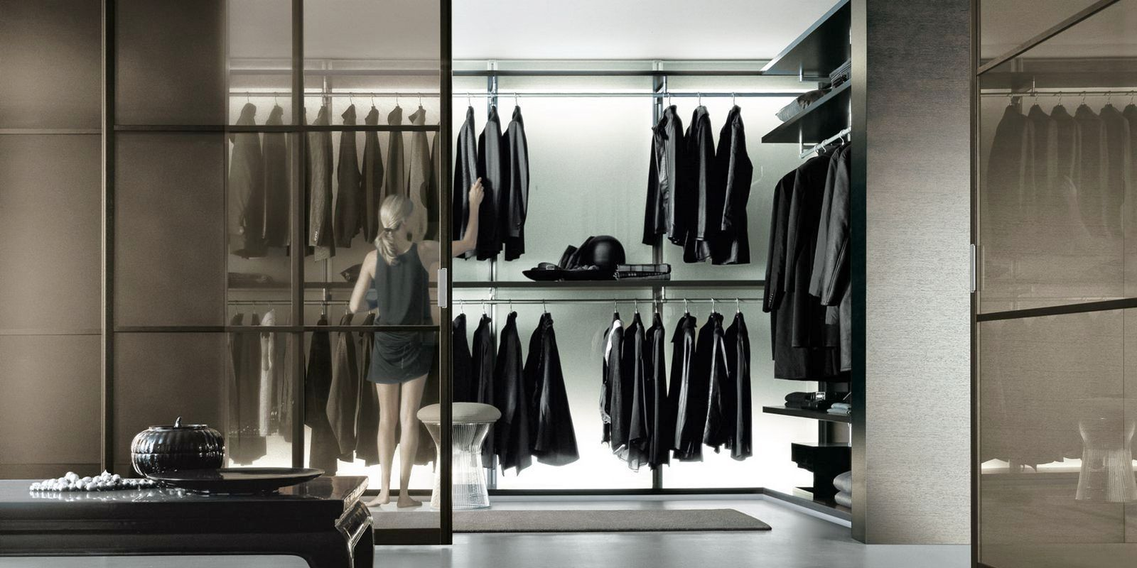 The Best Modern Walk In Closets Glass Walking Closet Things Going Into Kane 39 S House Pinterest