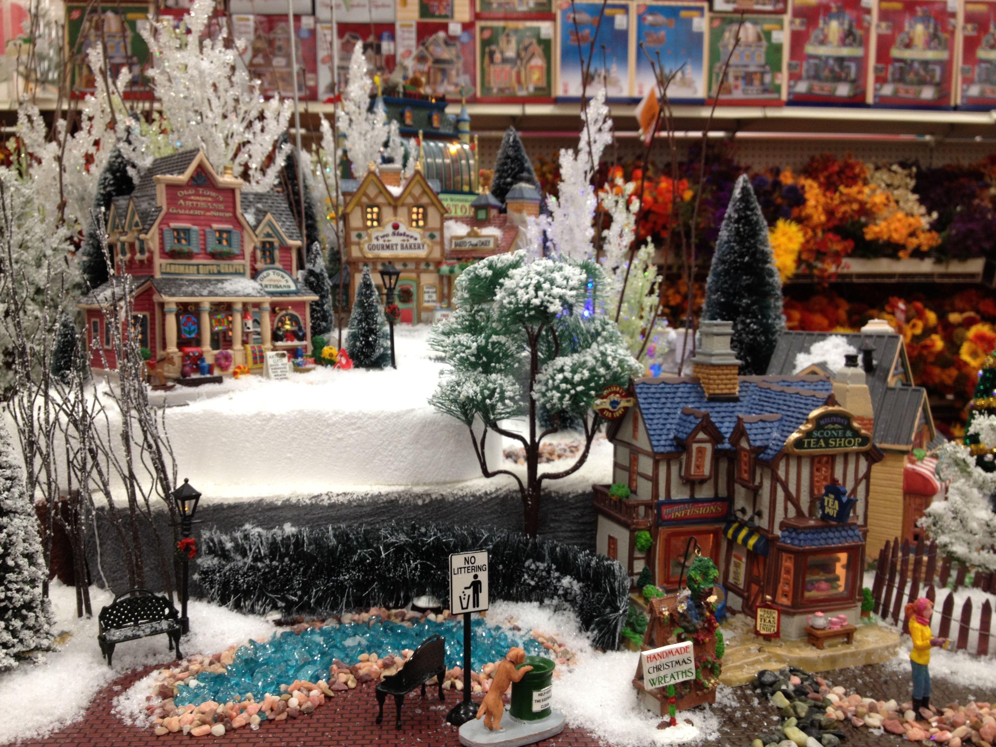 Christmas Lemax Display 2012 | Christmas Village Ideas ...