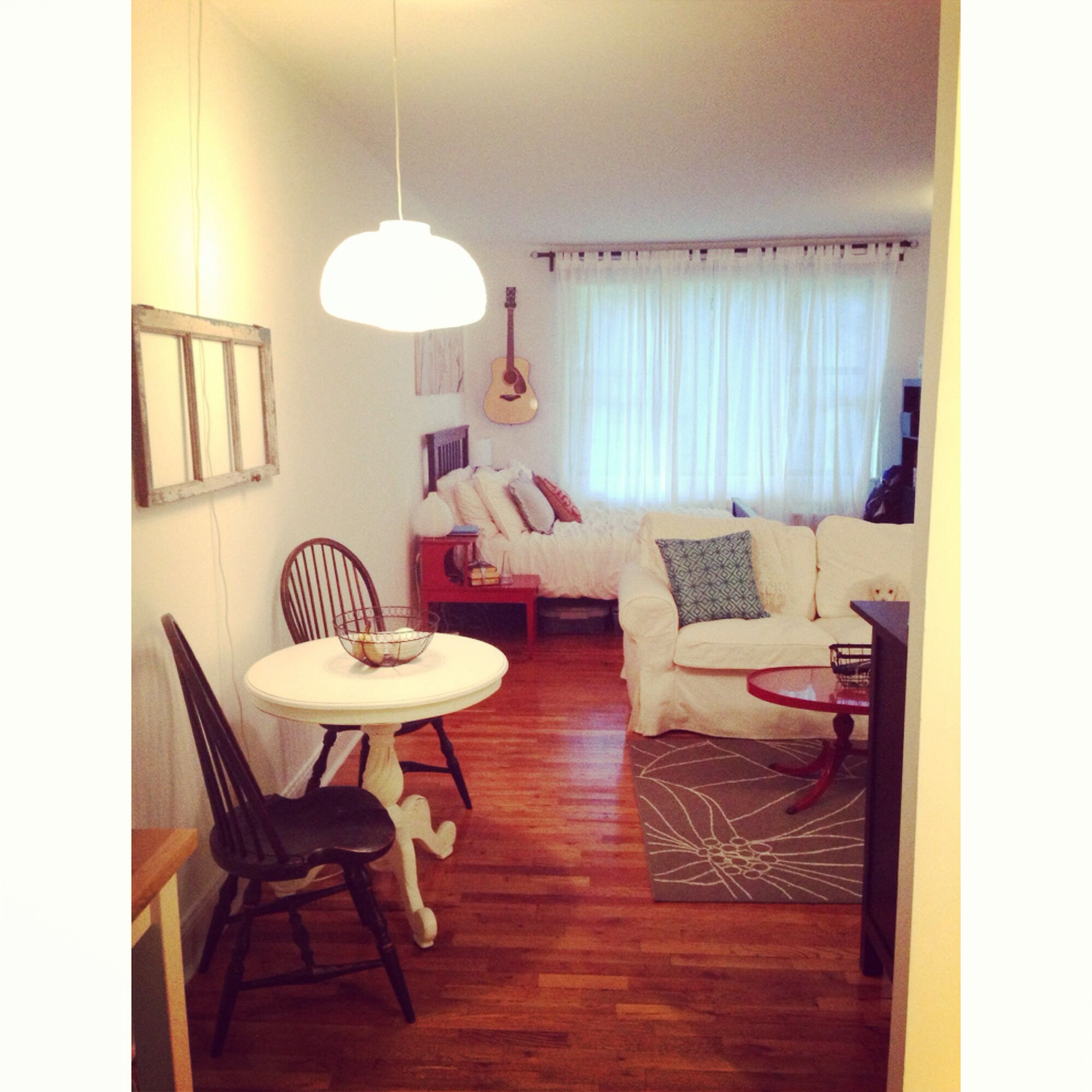 My Studio Apartment In New York Apartment Living Pinterest