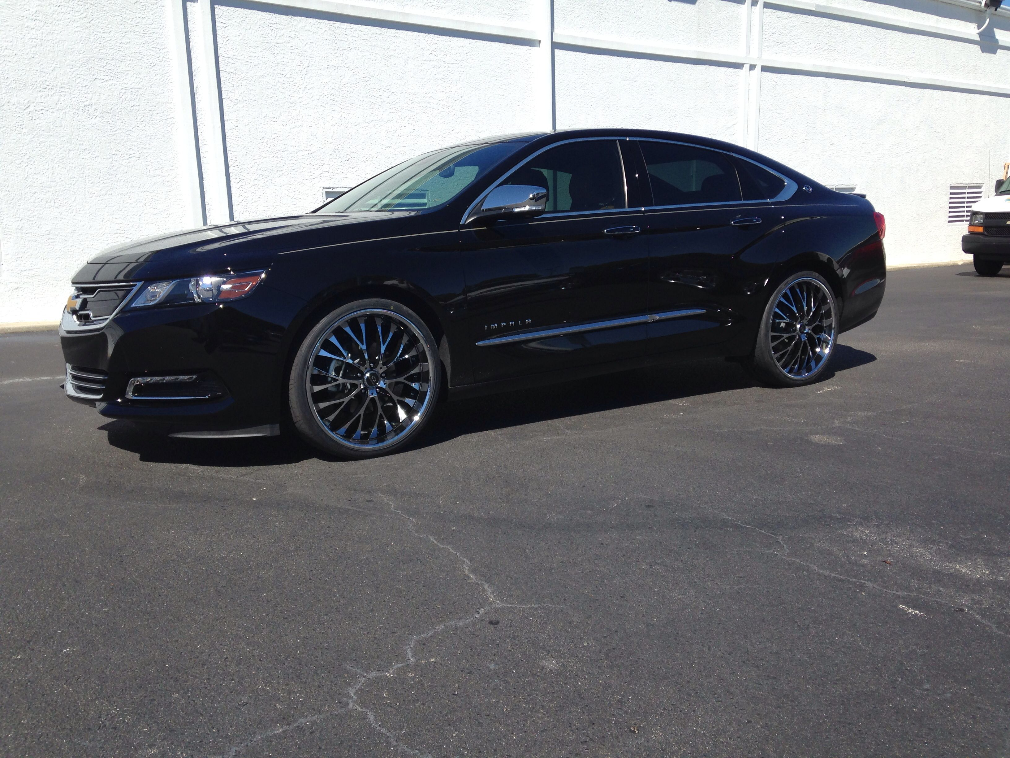 new impala with 22 inch lorenzo wheels fit automotive. Black Bedroom Furniture Sets. Home Design Ideas