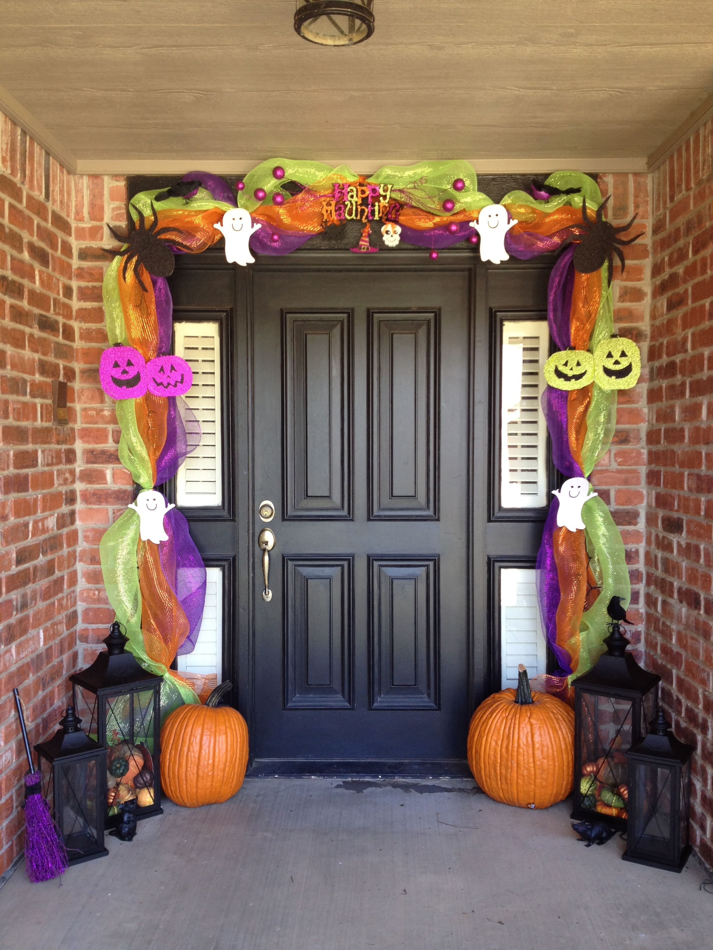 Halloween Door Decor Life At Harding Pinterest