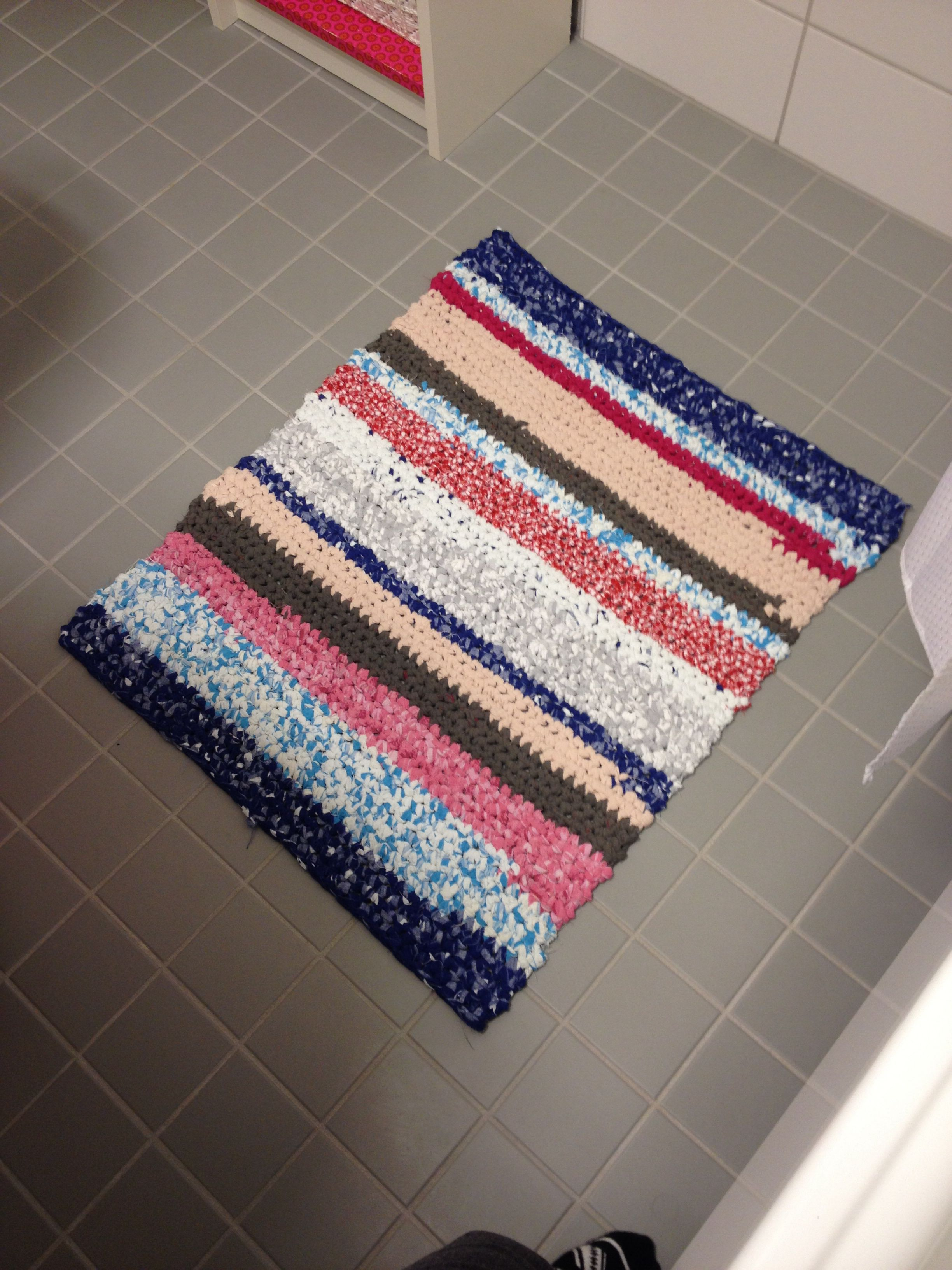 Fantastic Crochet Bathroom Rug  Mom Photographer