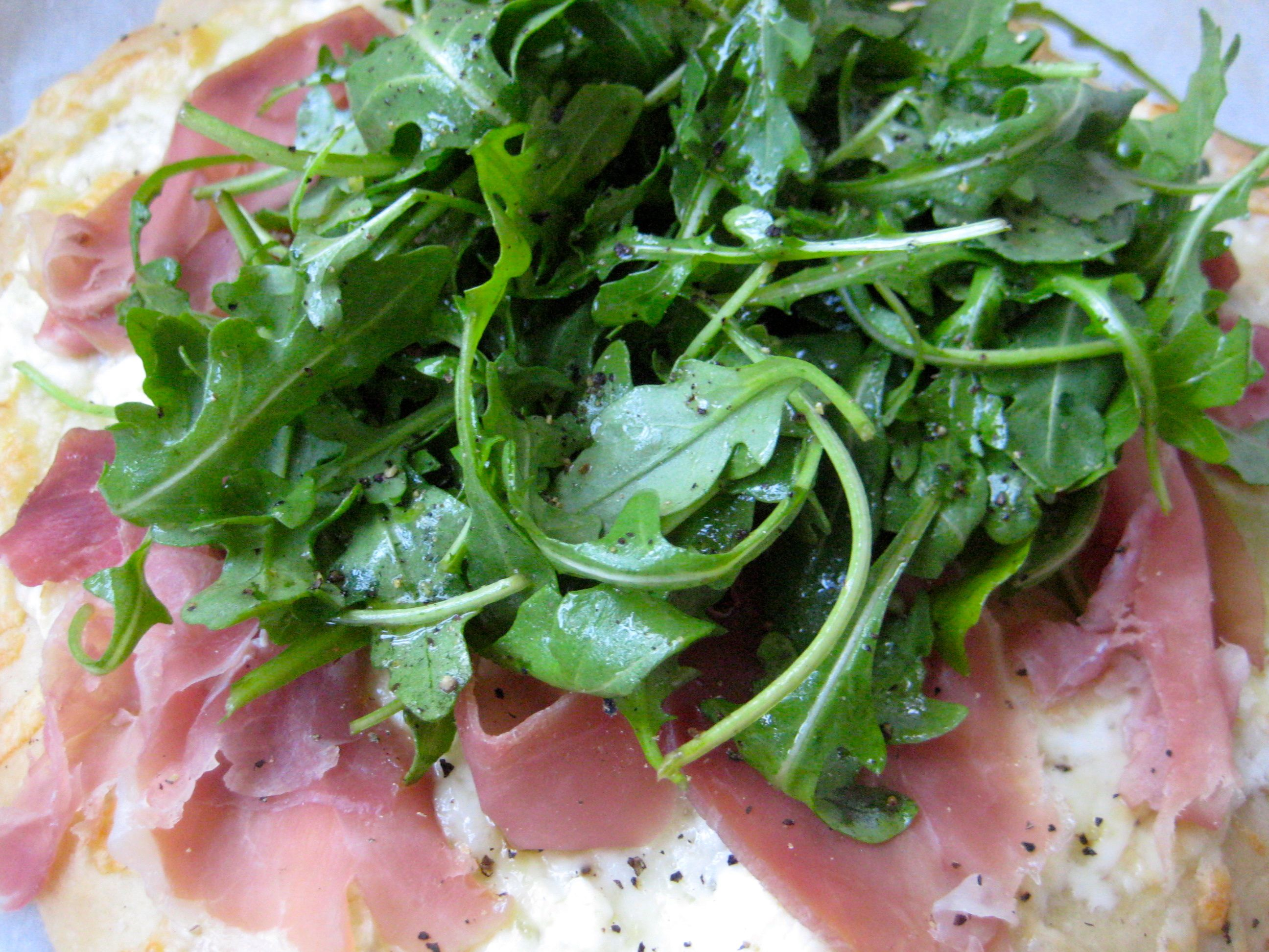 Arugula Salmon Salad With Capers And Shaved Parmesan Recipes ...