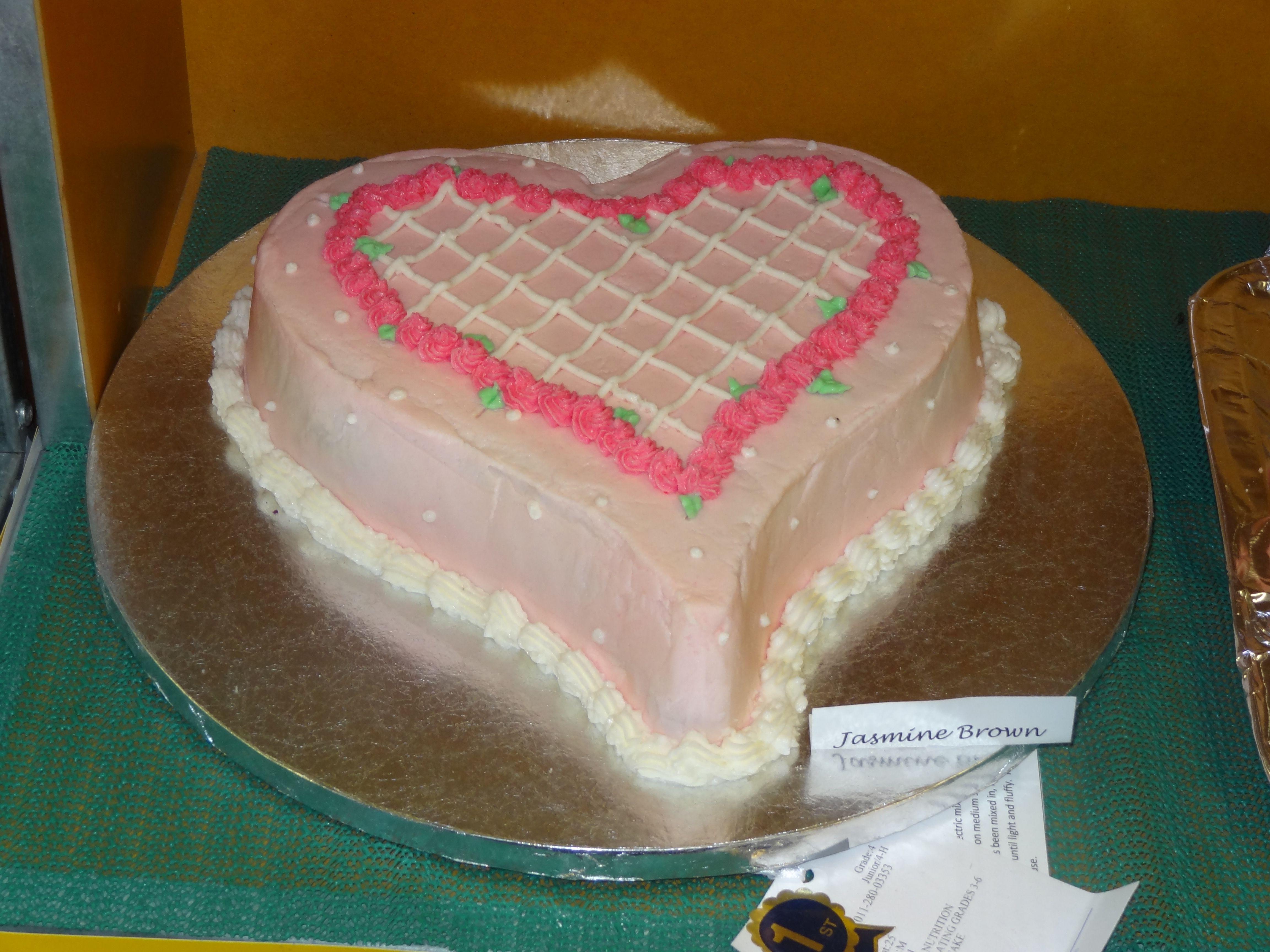 Cake decorating holiday cake jasmines 39 s 4 h pinterest for Decoration 4 cake