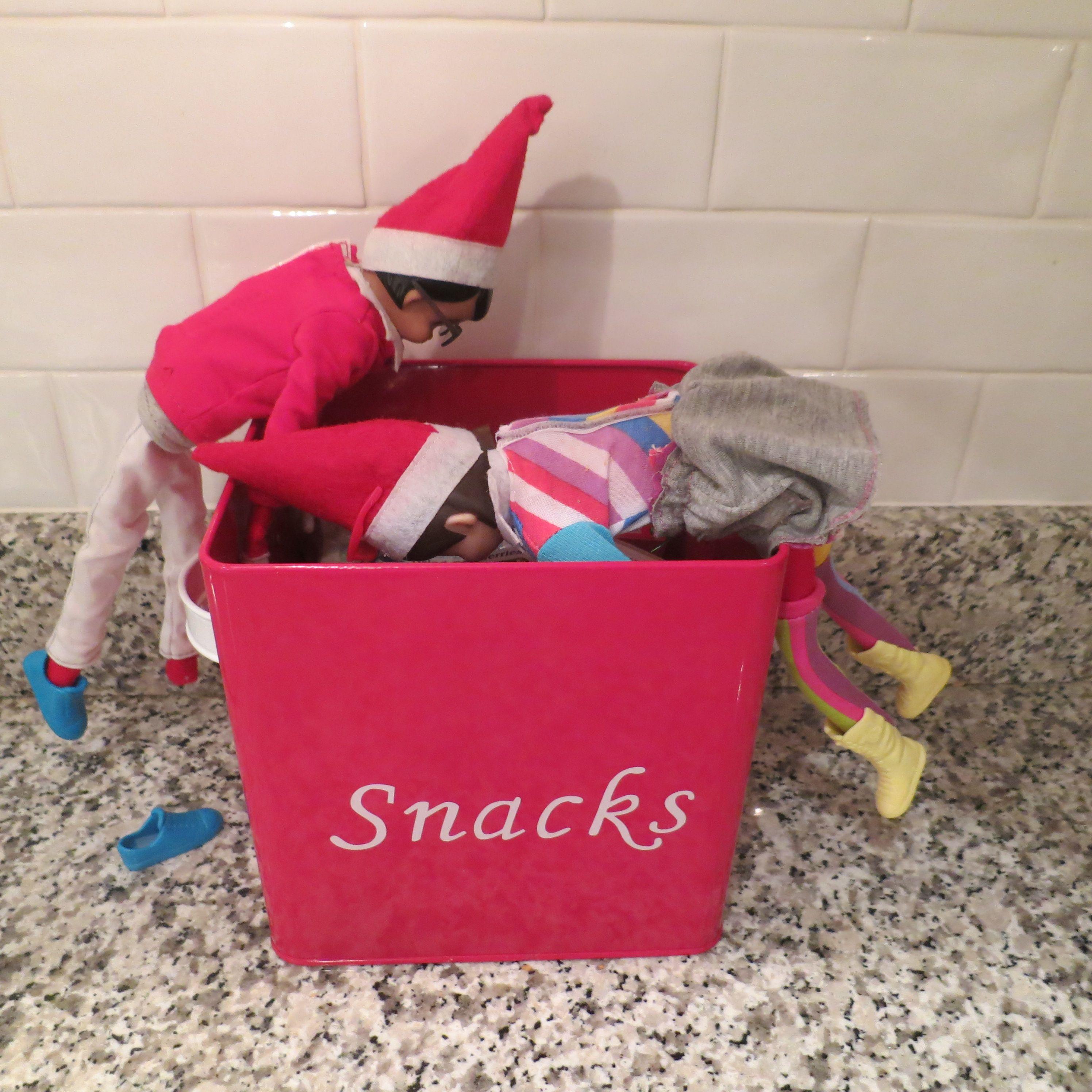 Oh! NO! | Elf on the shelf ideas. | Pinterest