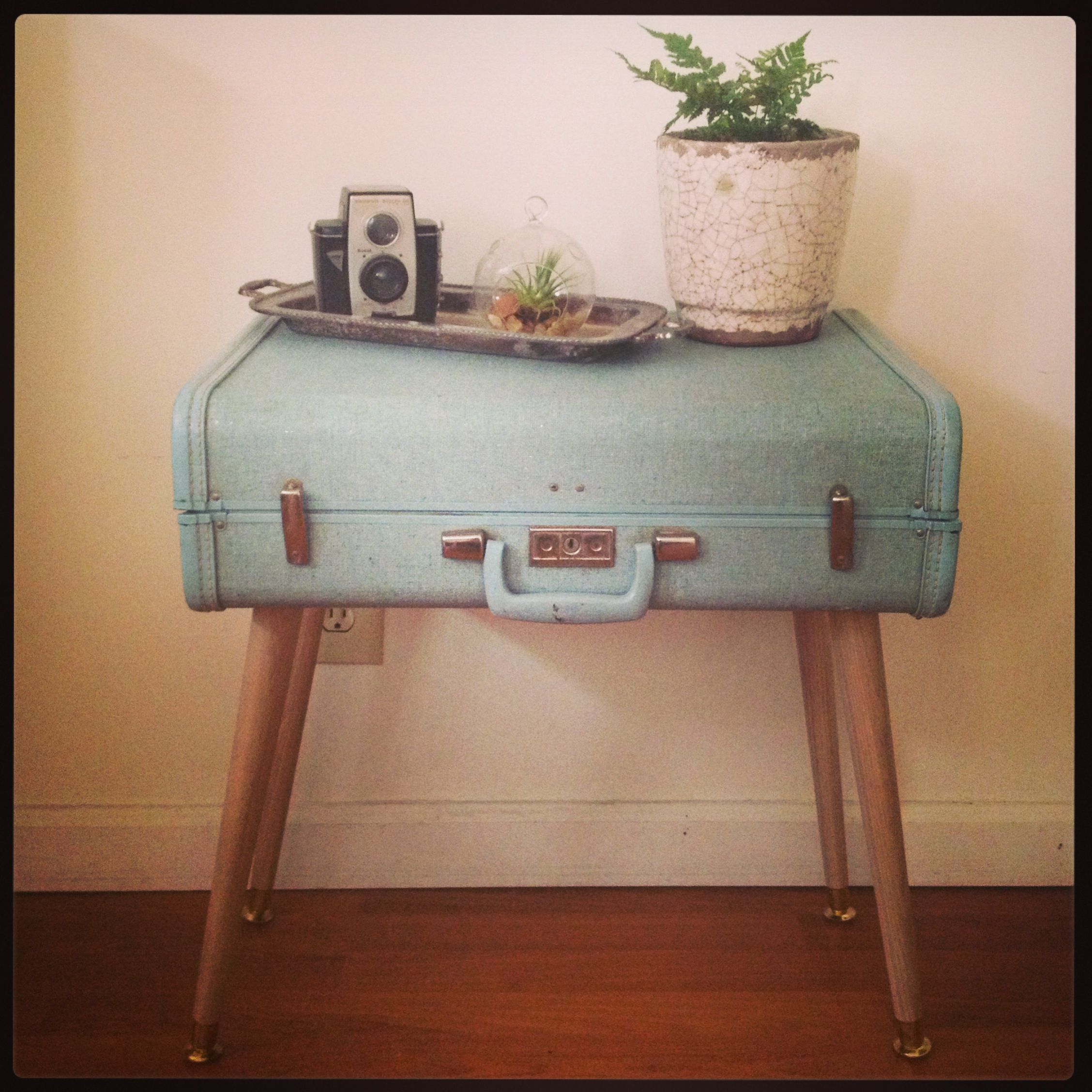 Old Suitcase Coffee Table Decor Pinterest