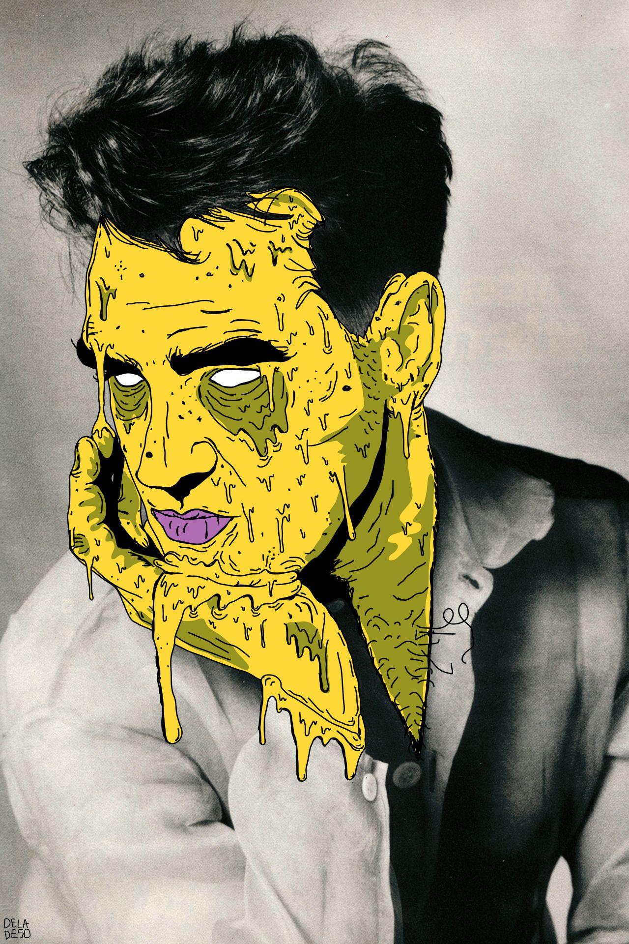 Как сделать арт зомби фото