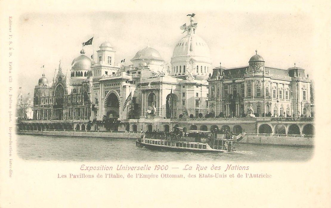 Exposition Universelle 1900 Paris Art D Co Art Nouveau La Belle P