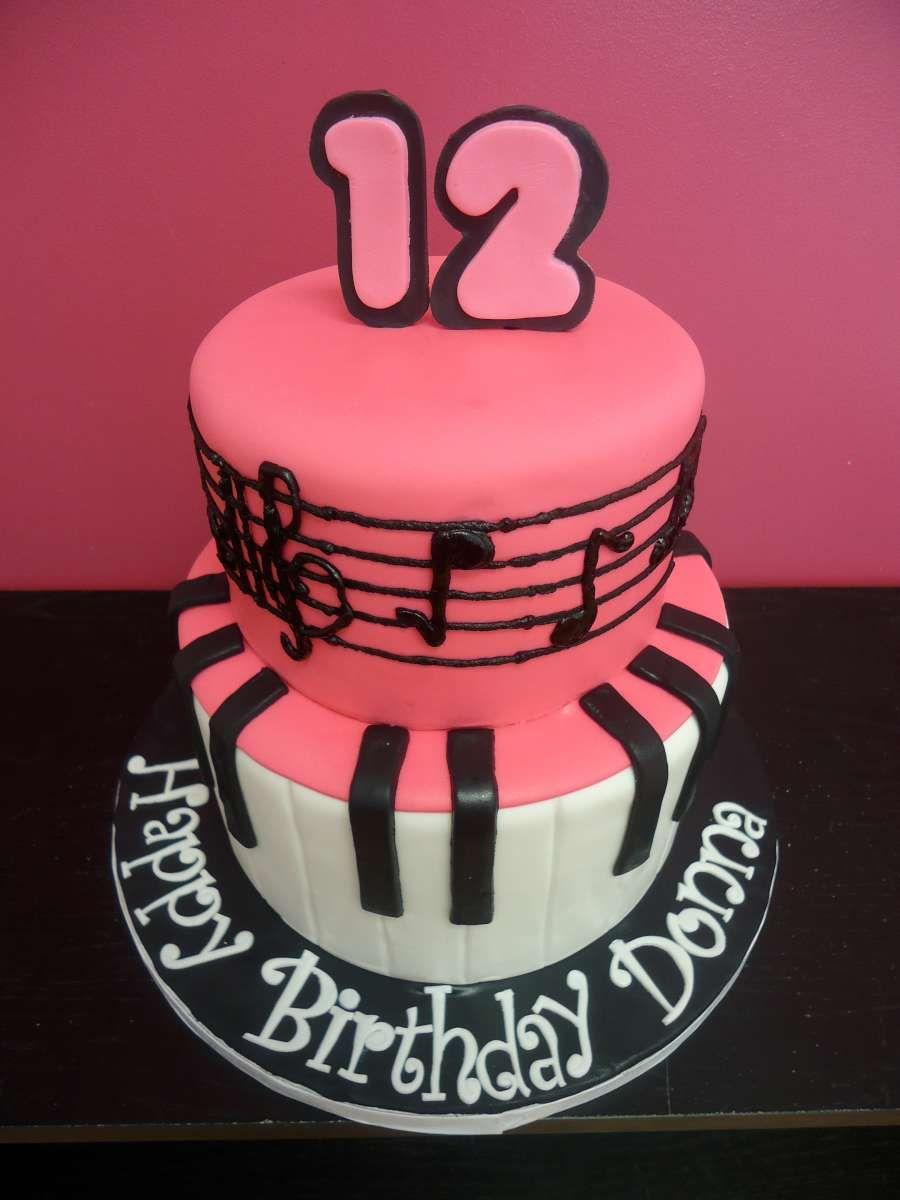 Cake Decorations Music Theme : music themed cake www.bakedinmoore.com Birthday ideas ...