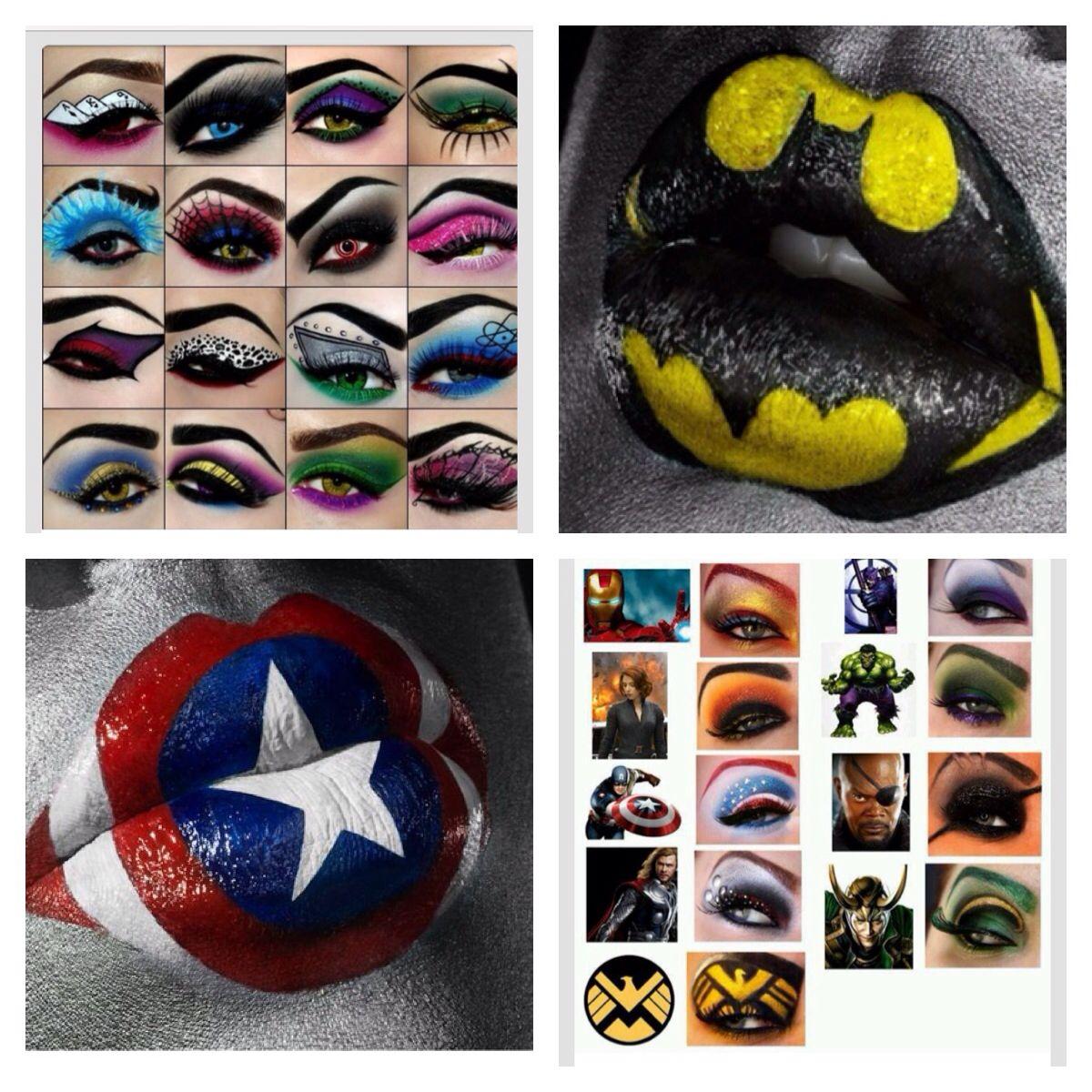 Superhero Makeup Superhero makeup | Bat...