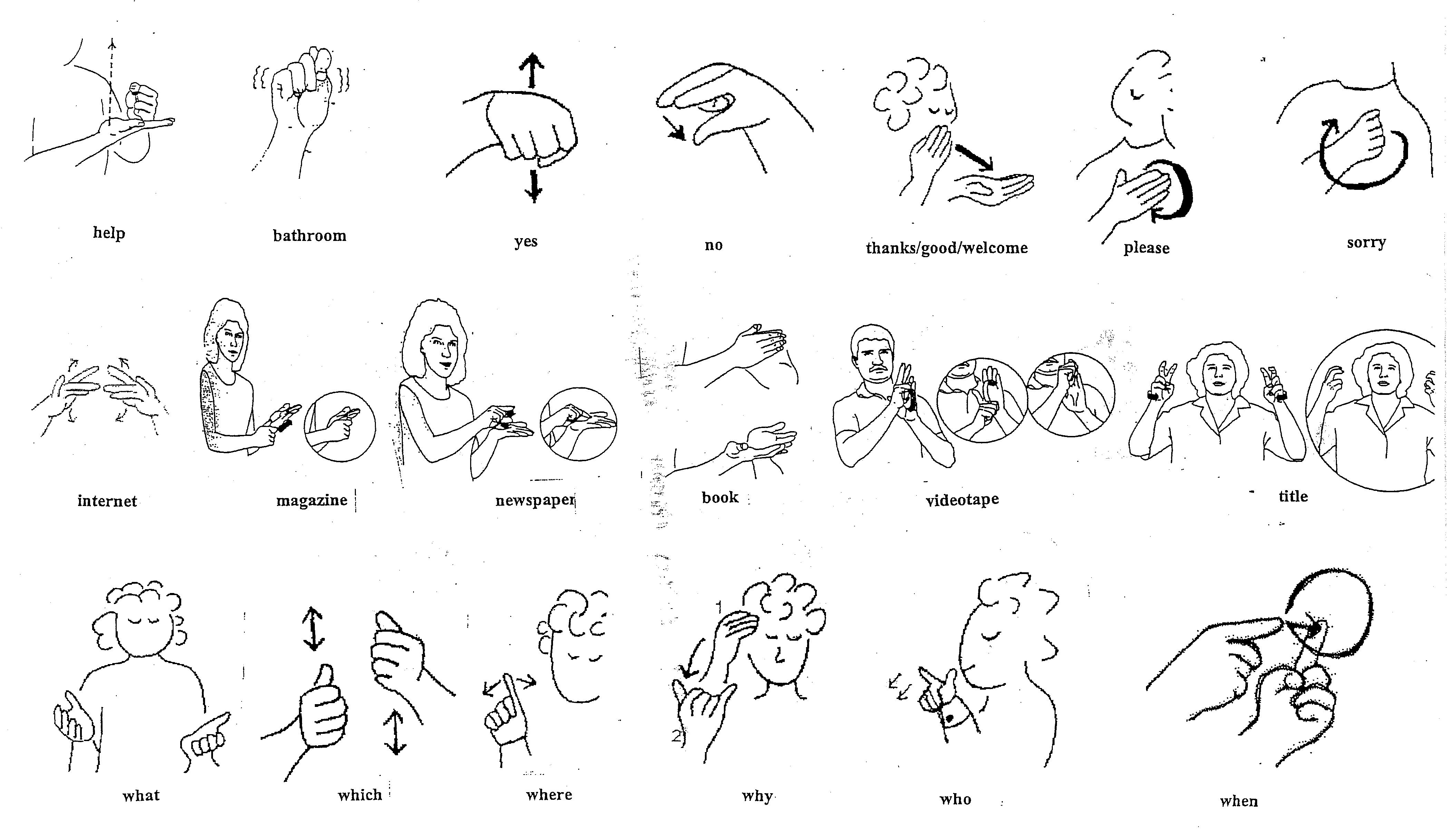 ASL American Sign Language