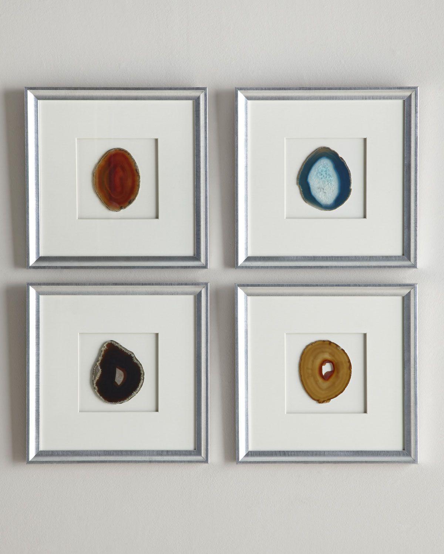 Framed Agate Wall Decor Art Love Pinterest