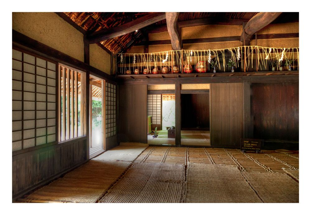 Minka farmhouse japanese architecture and interiors for Classic japanese house design