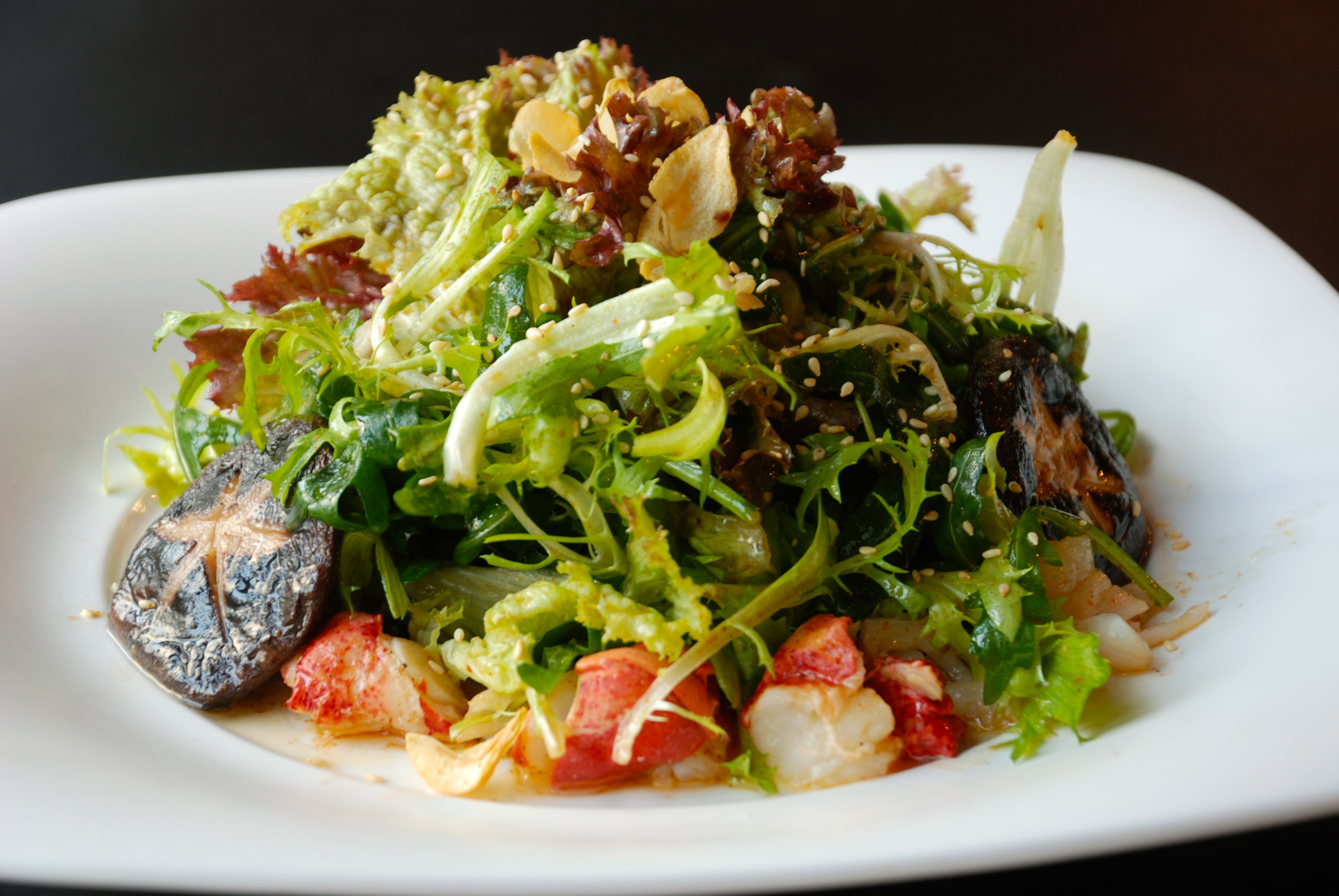 Lobster Salad with Spicy Lemon Dressing | Nobu Lanai Cold ...
