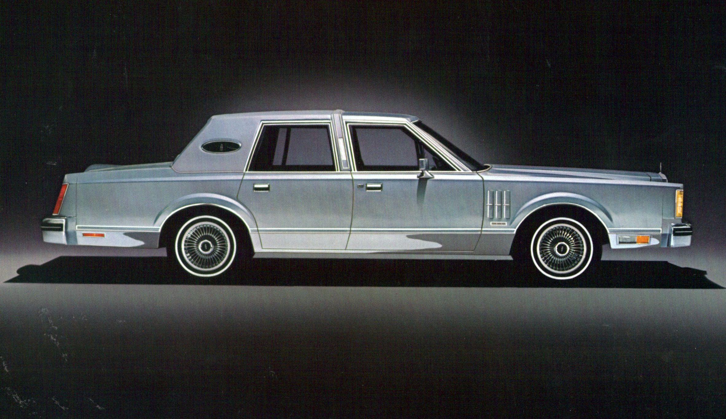 1980 lincoln continental mark v wheels wings waves pinterest. Black Bedroom Furniture Sets. Home Design Ideas