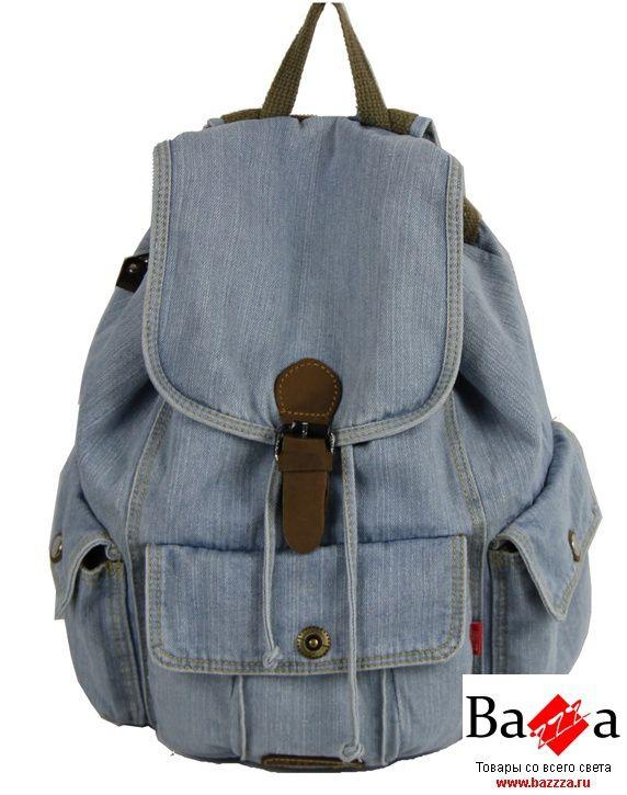 Пошить рюкзак из джинсов