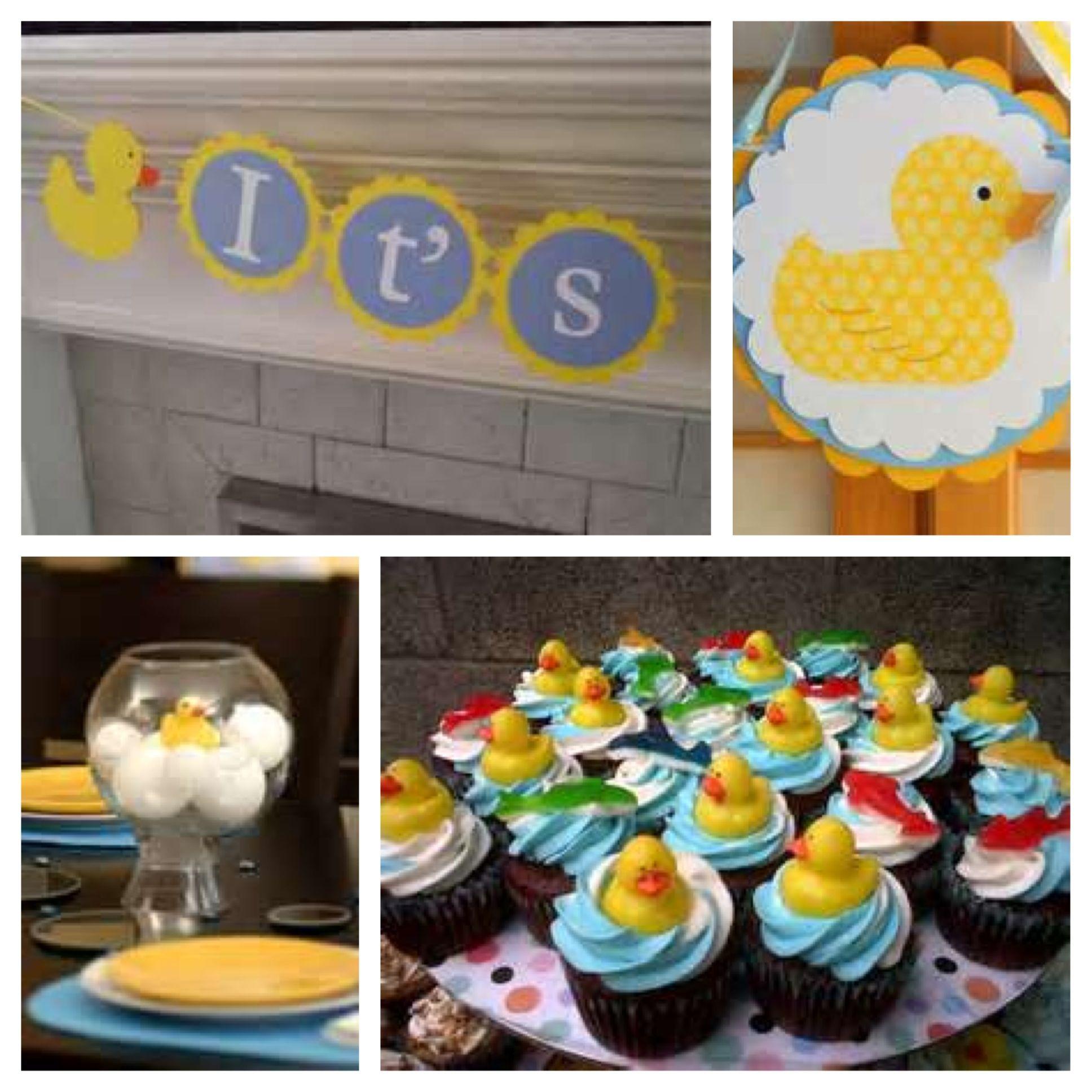 duck theme baby shower pinterest