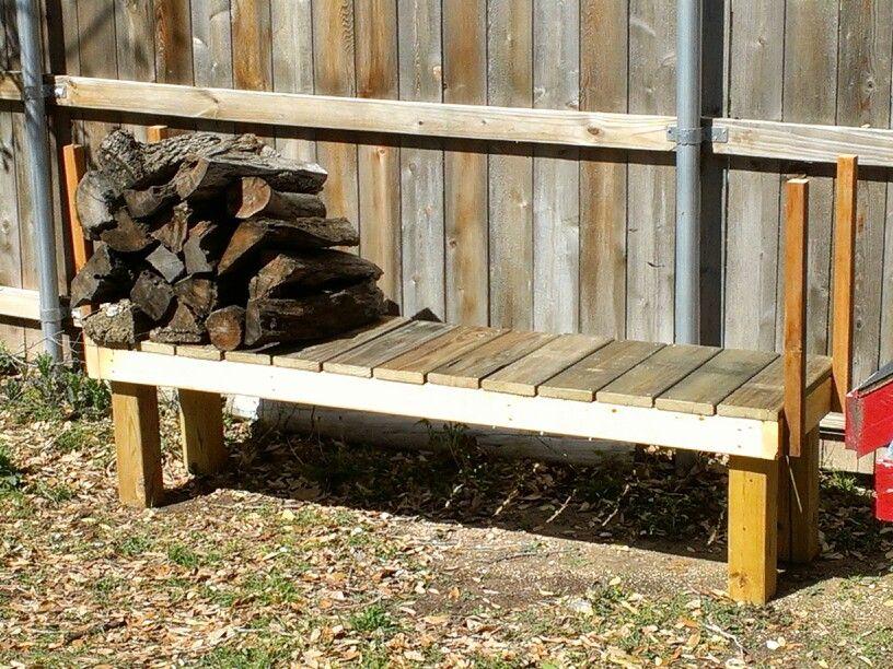 Firewood storage  Outdoor Ideas  Pinterest