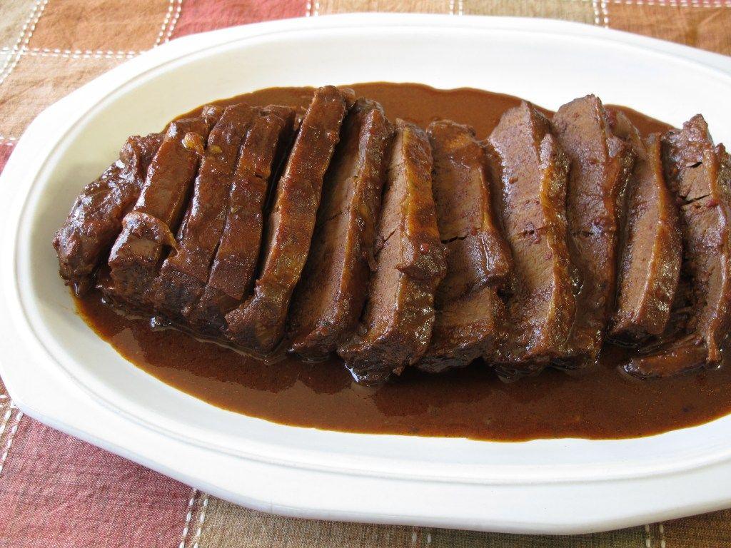 Cousin David's Slow Cooker Brisket Recipe — Dishmaps