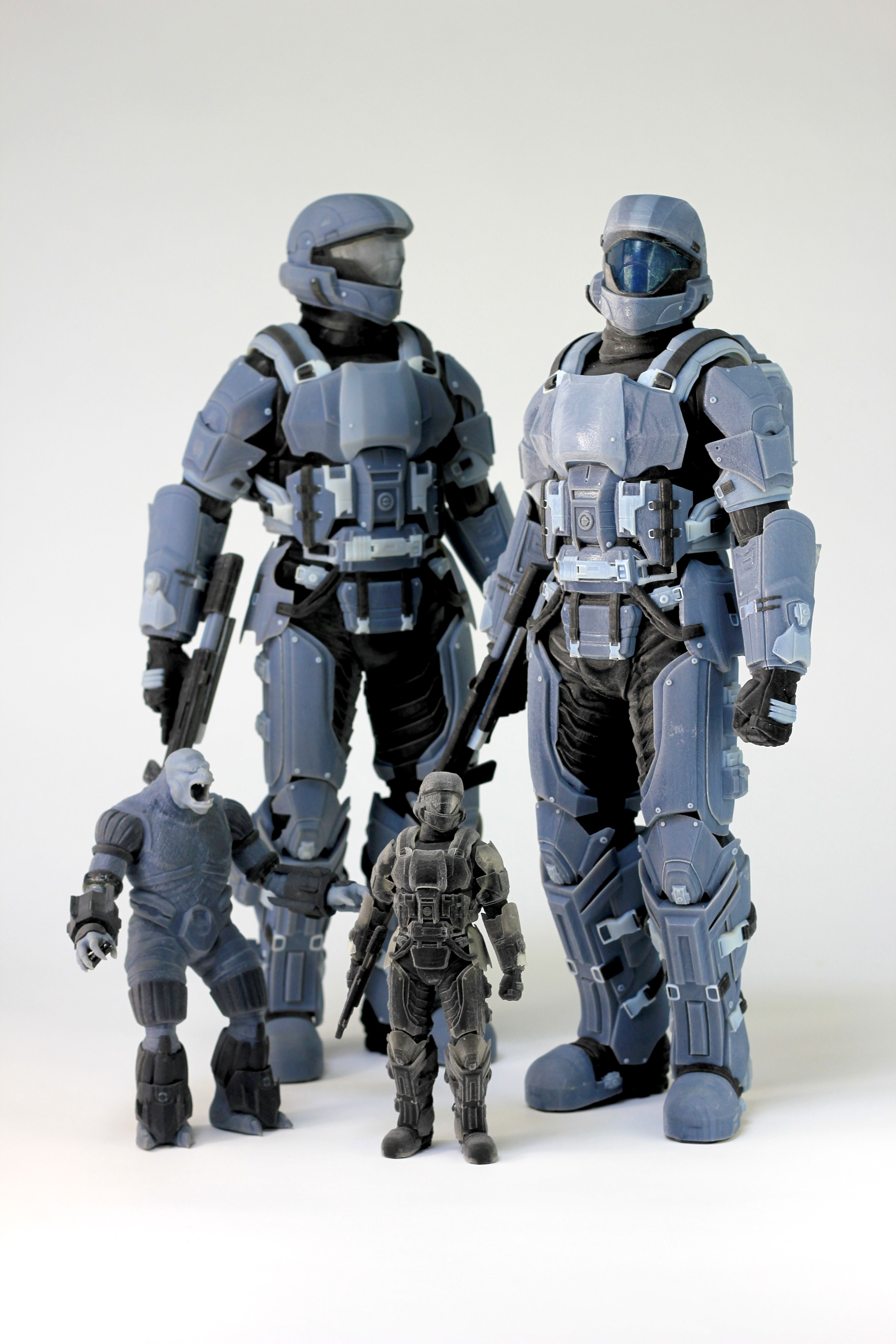 3D printed action figures 3dPrintedToys 3D Printed Toys