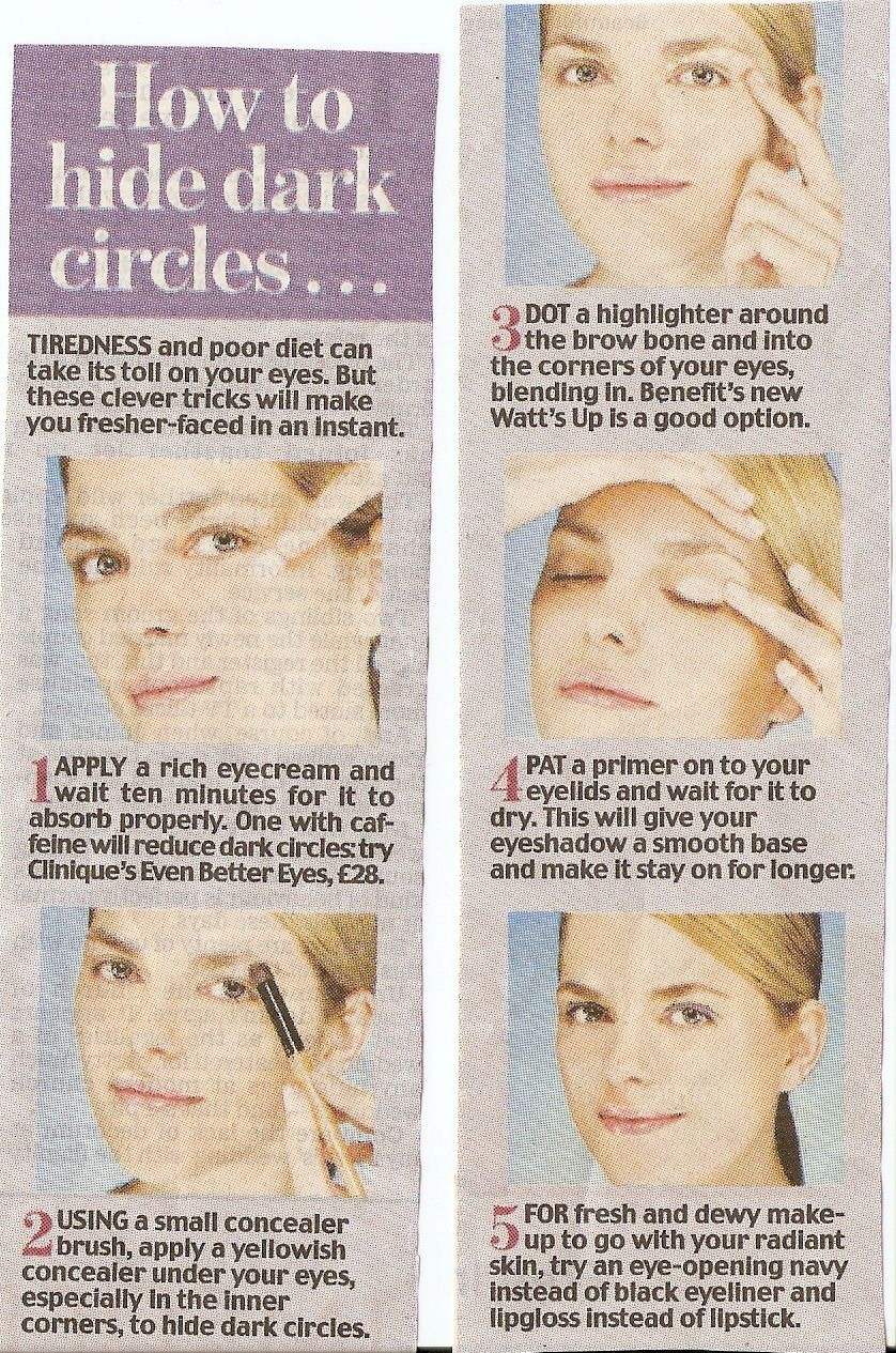 Applying Concealer In A Triangle Shape Gives Better And More Coverage