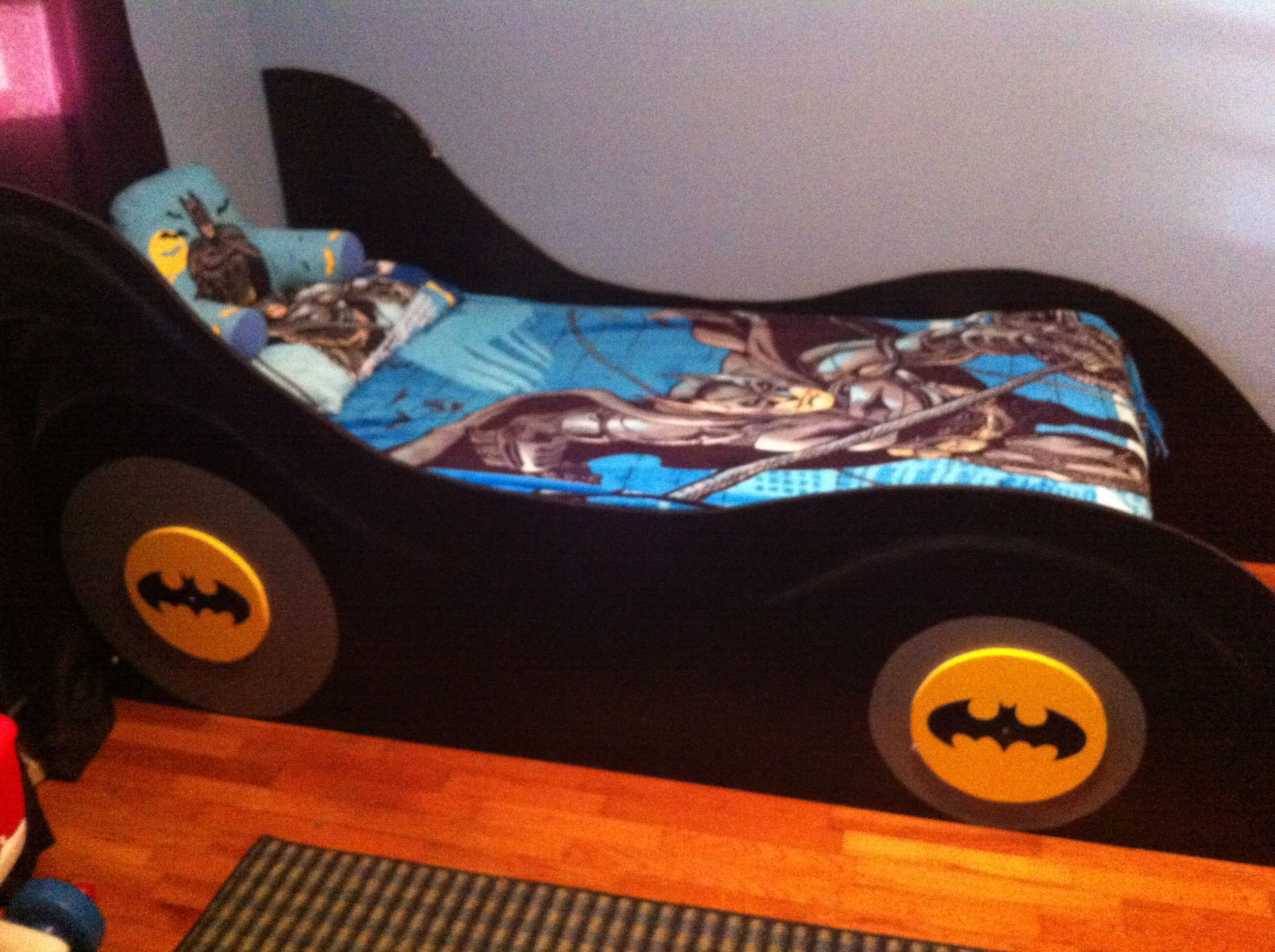 Batman bed woodworking creation by tonycan woodworkingweb - Batman Bed Ramsey Pinterest 2592x1936