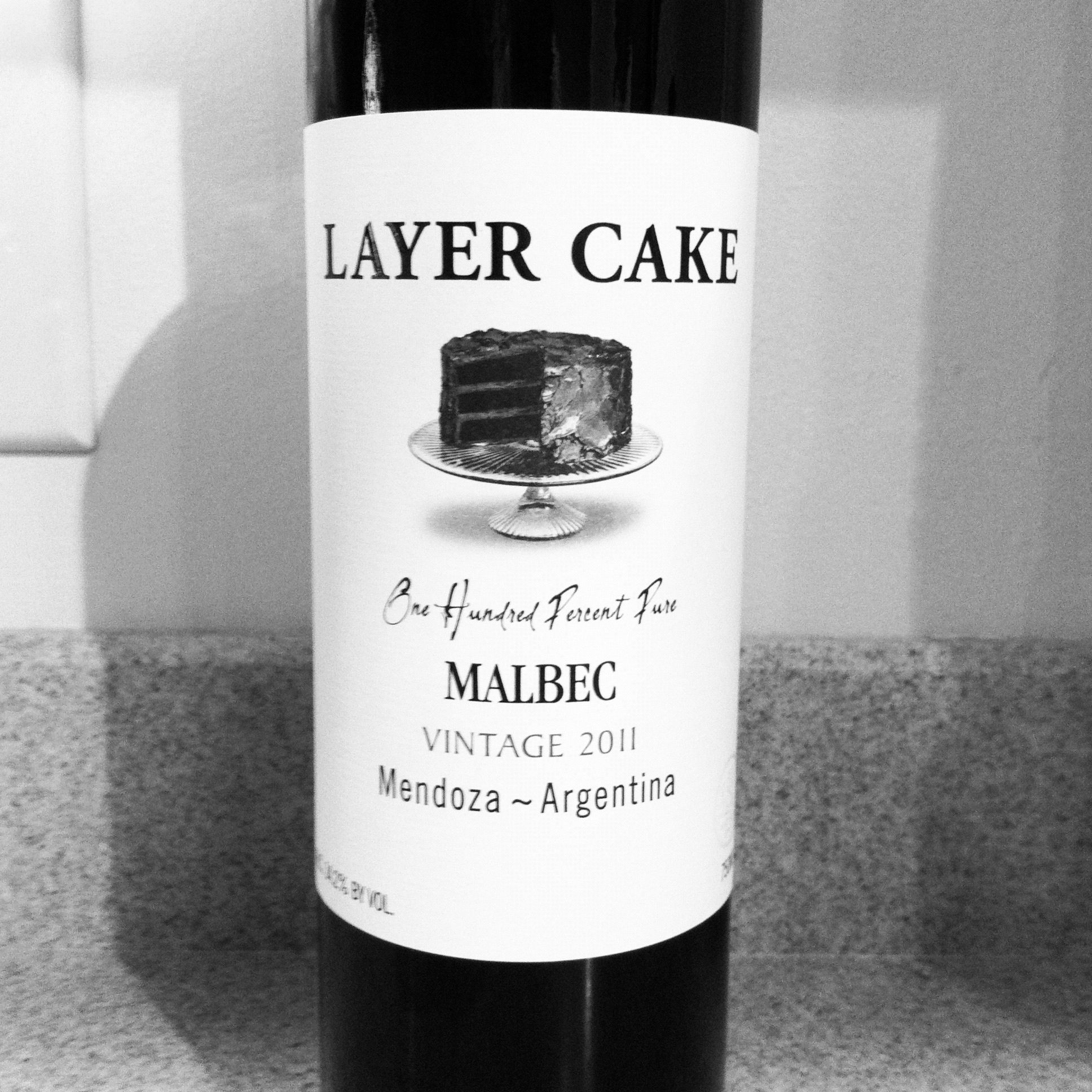 Layer Cake Red Wine Malbec