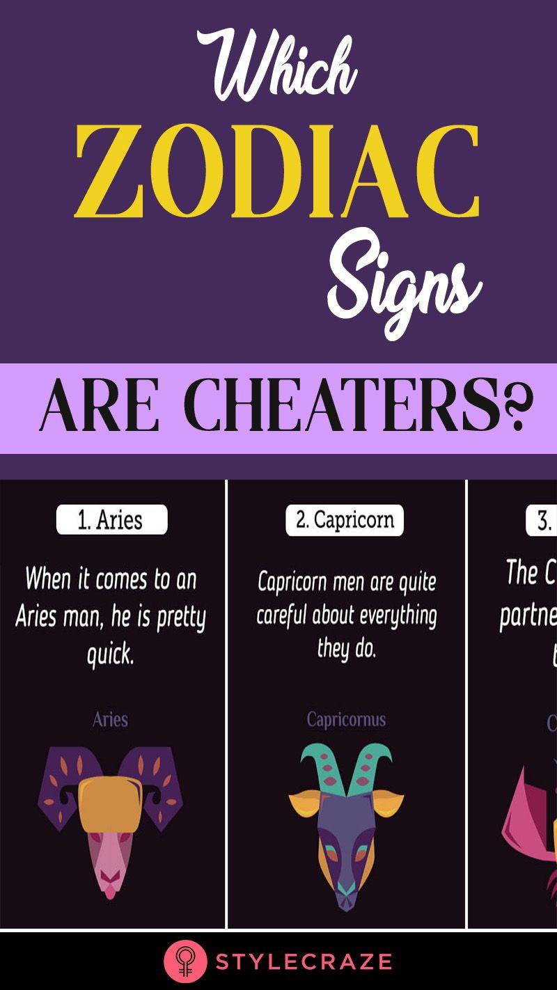 When a capricorn man cheats