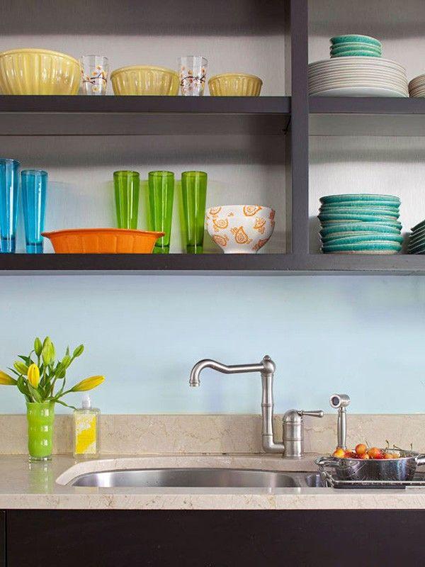 Giúp bạn trưng bày mọi vật dụng, đồ dùng nhá bếp một cách gọn gàng