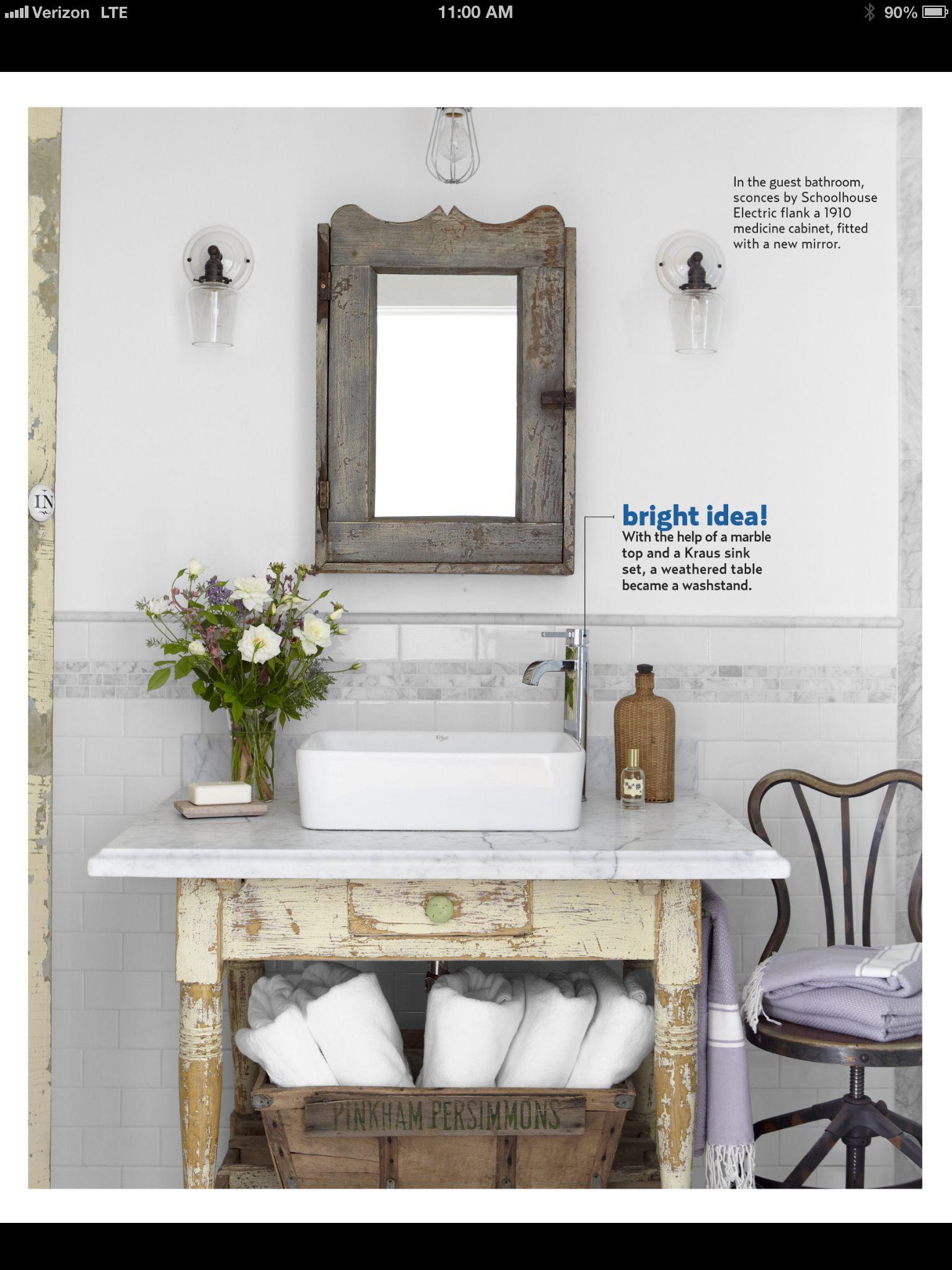 Bathroom Farmhouse Decor Pinterest
