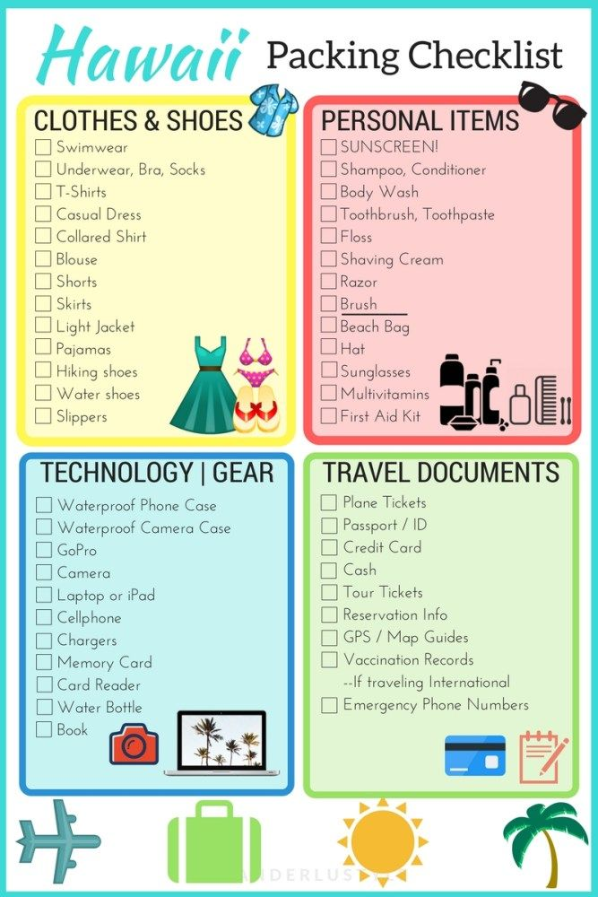 Your Summer Vacation Packing Checklist Glitter Guide - inducedinfo - summer vacation checklist