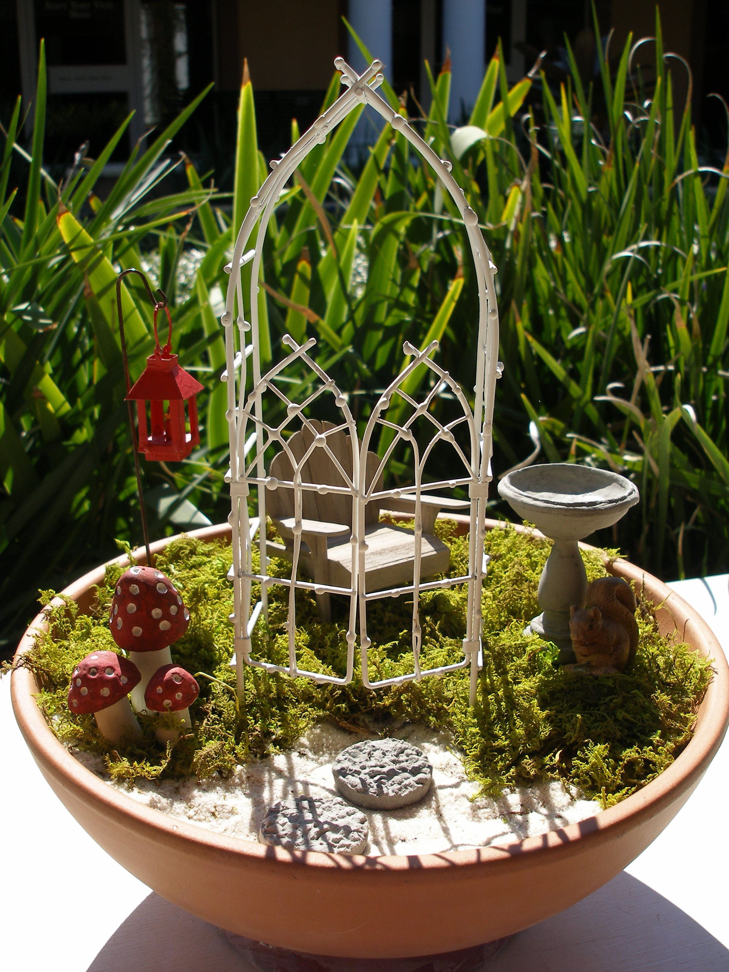 Create your own fairy garden fairy gardens pinterest for Design your own garden