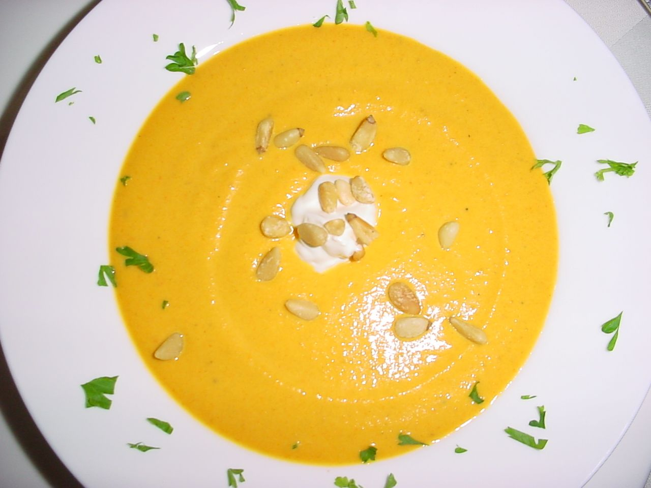 Curried Carrot Soup | Lula's Food | Pinterest