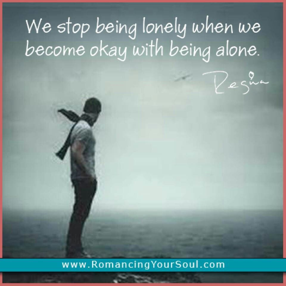 Being alone... Quotes & beautiful words Pinterest