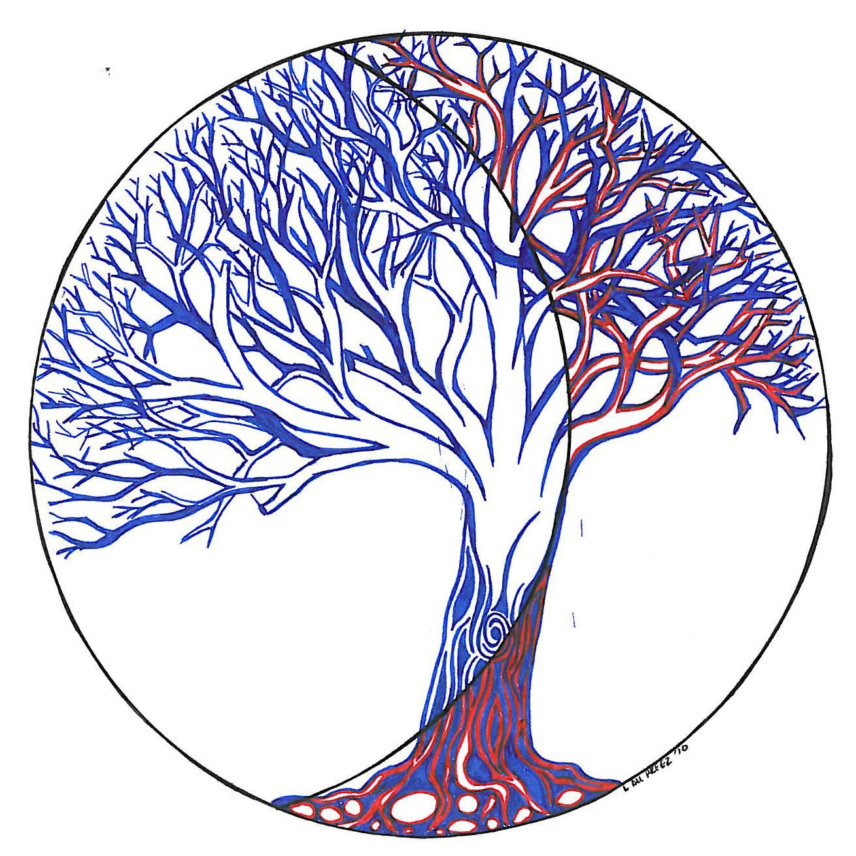 Half tree - Louise Palmer | Art-painted or drawn | Pinterest