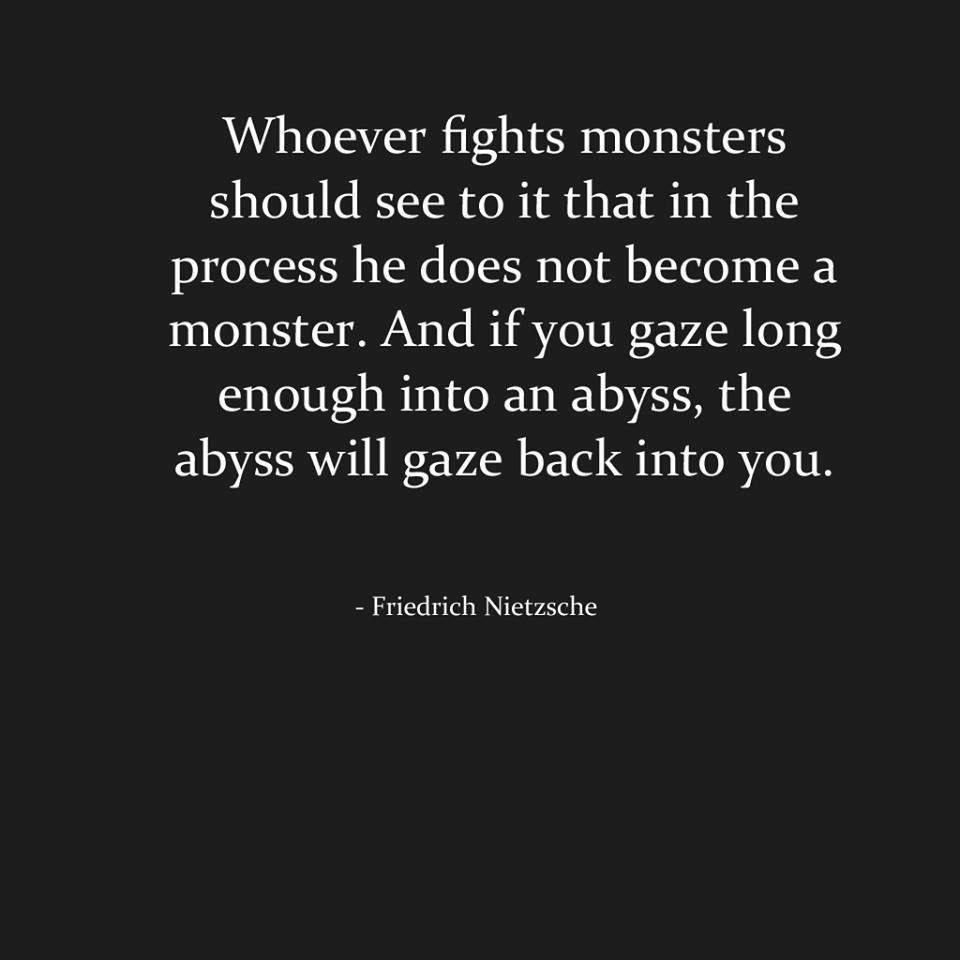 whoever fights monsters Robert k ressler (1937-2013) was a supervisory special agent of the fbi as a  reserve colonel in the us army's criminal investigation division (cid) before.