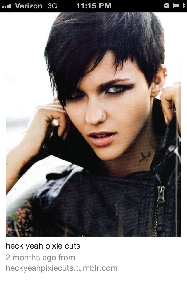 Awesome asymmetrical hair post apocalyptic & hipster dyke haircuts