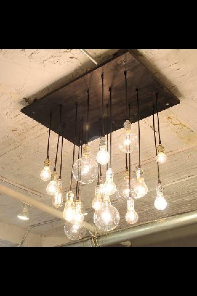 Plafonnier style industriel !  deco interieur  Pinterest