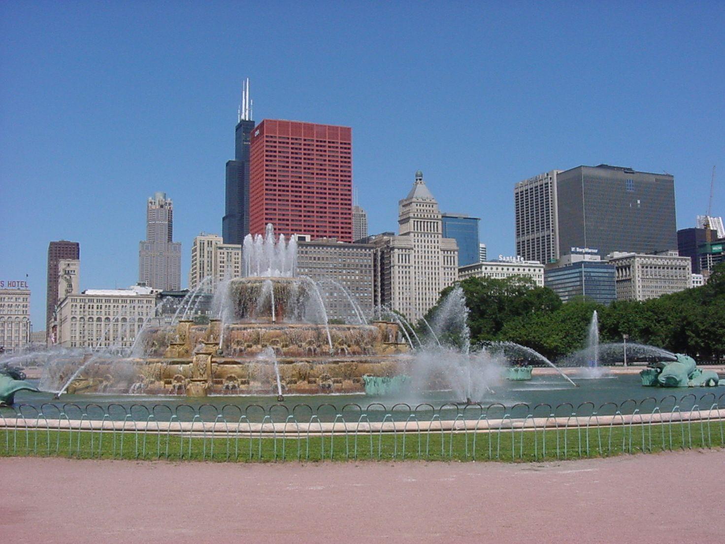 buckingham fountain chicago-#24