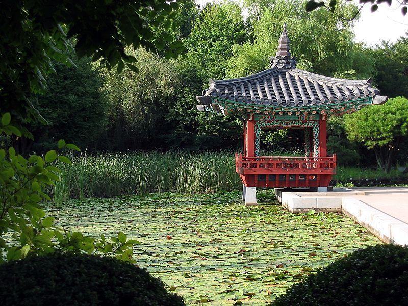 Korean Landscape Garden : Korean garden south korea
