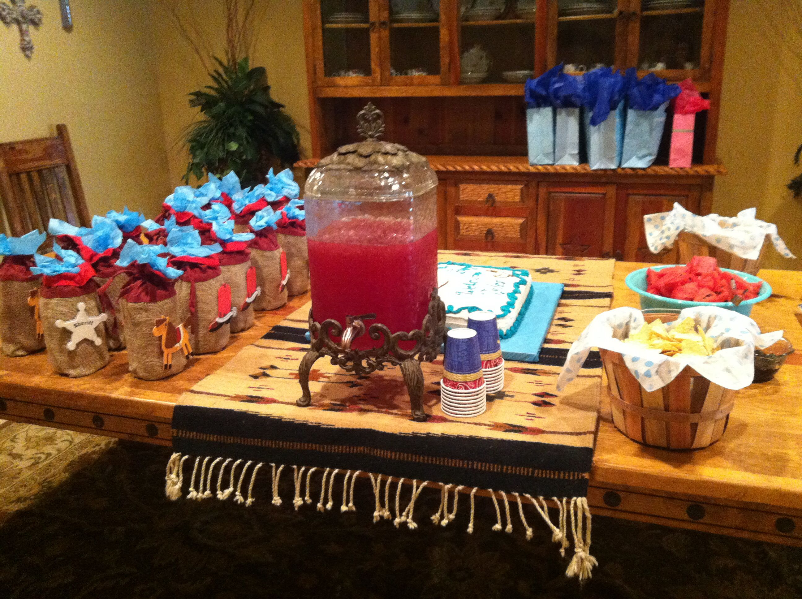 western cowboy baby shower boy party ideas themes pinterest
