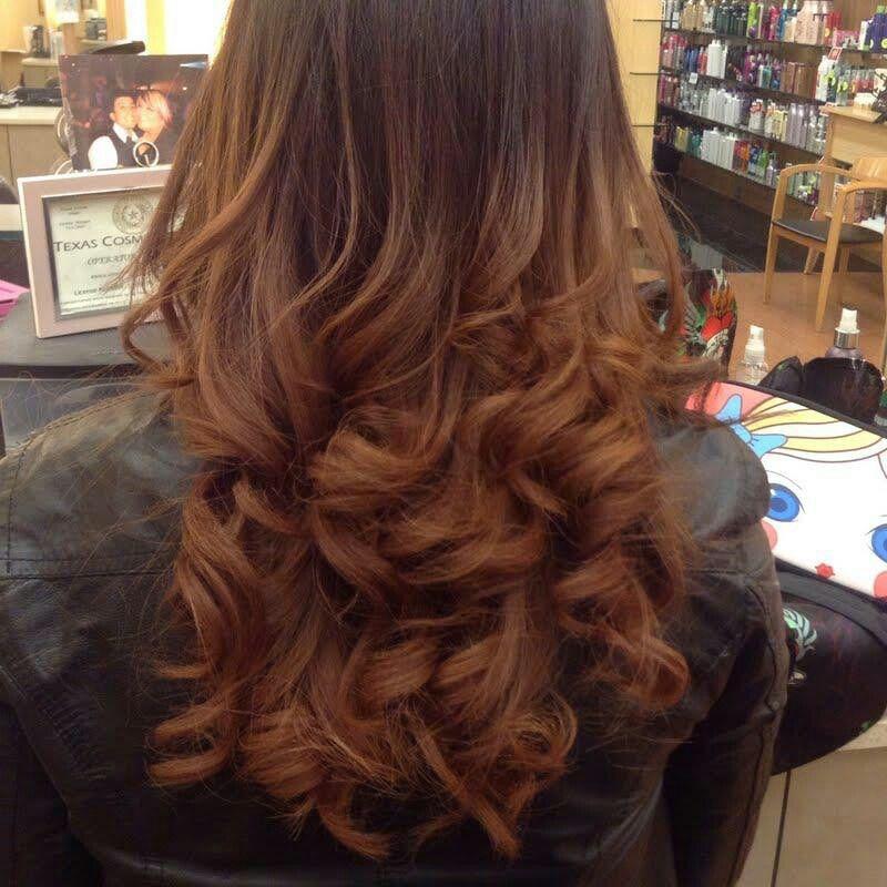 Soft brown ombre | hair | Pinterest