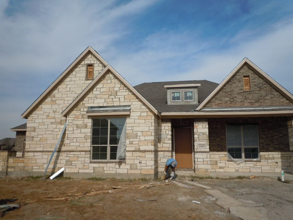 Front Elevation Brick : Front elevation brick stone vittorio ct plan