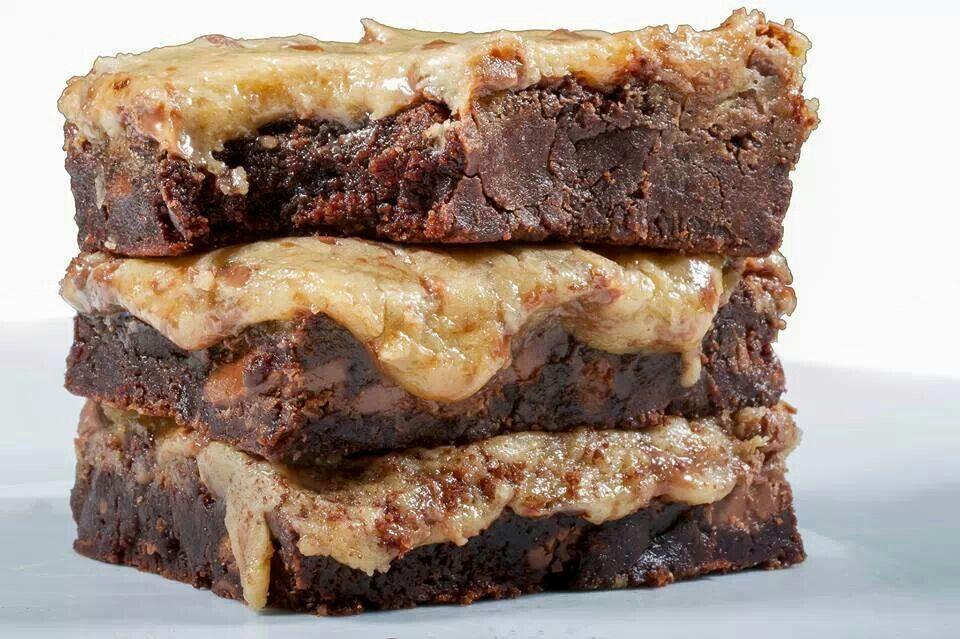 Nutella brownies | Food's | Pinterest