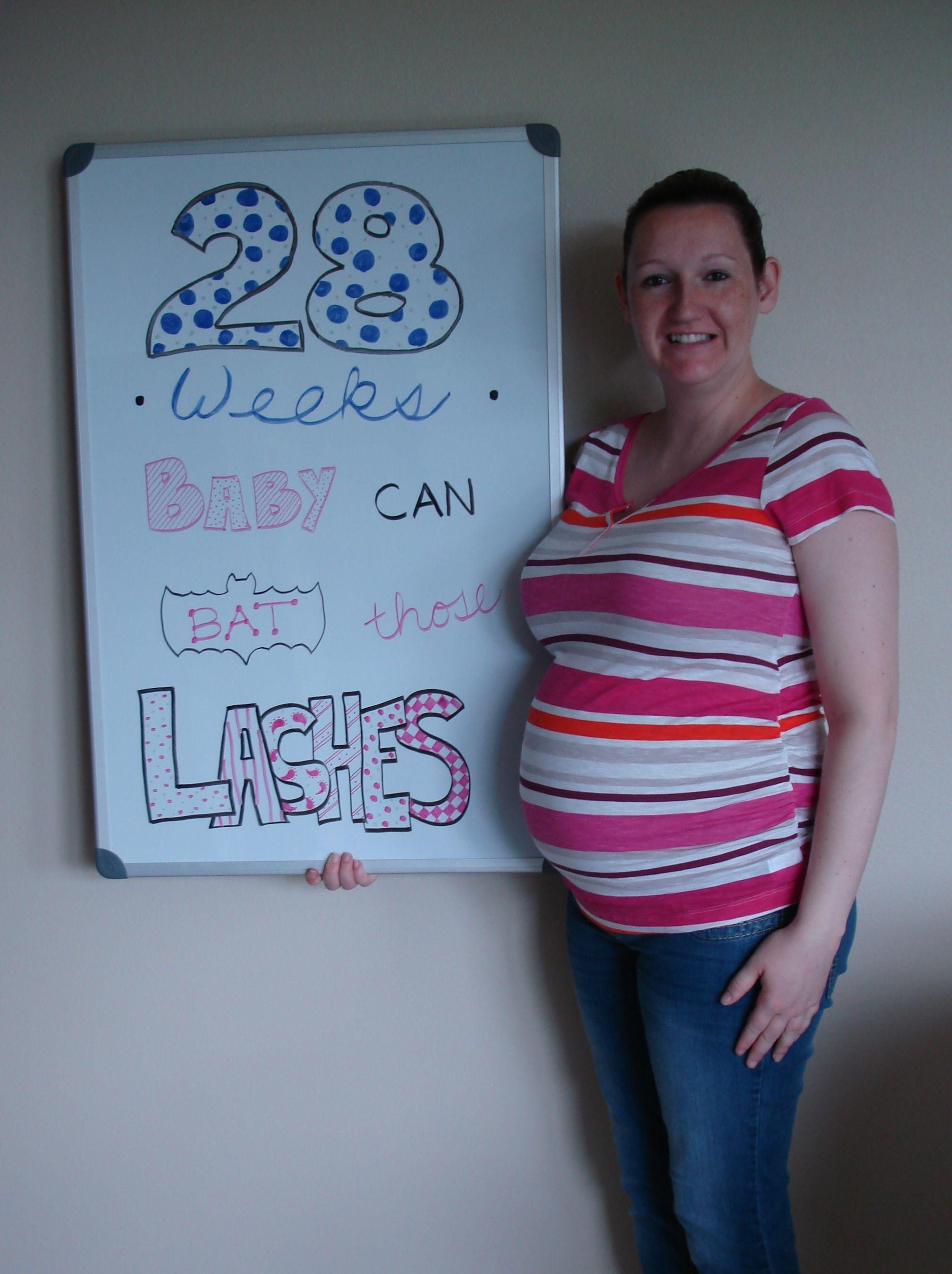 28 Weeks Pregnant   Oh baby babyyy!!   Pinterest